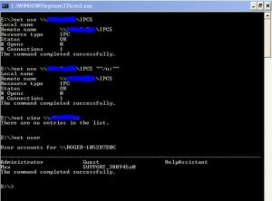 NetBIOS Enumeration And Null Session | XtraWeb