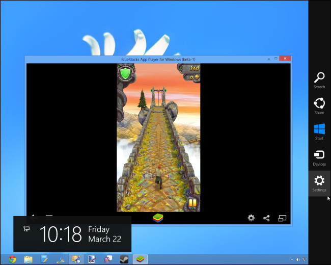 Play android apps on windows 8
