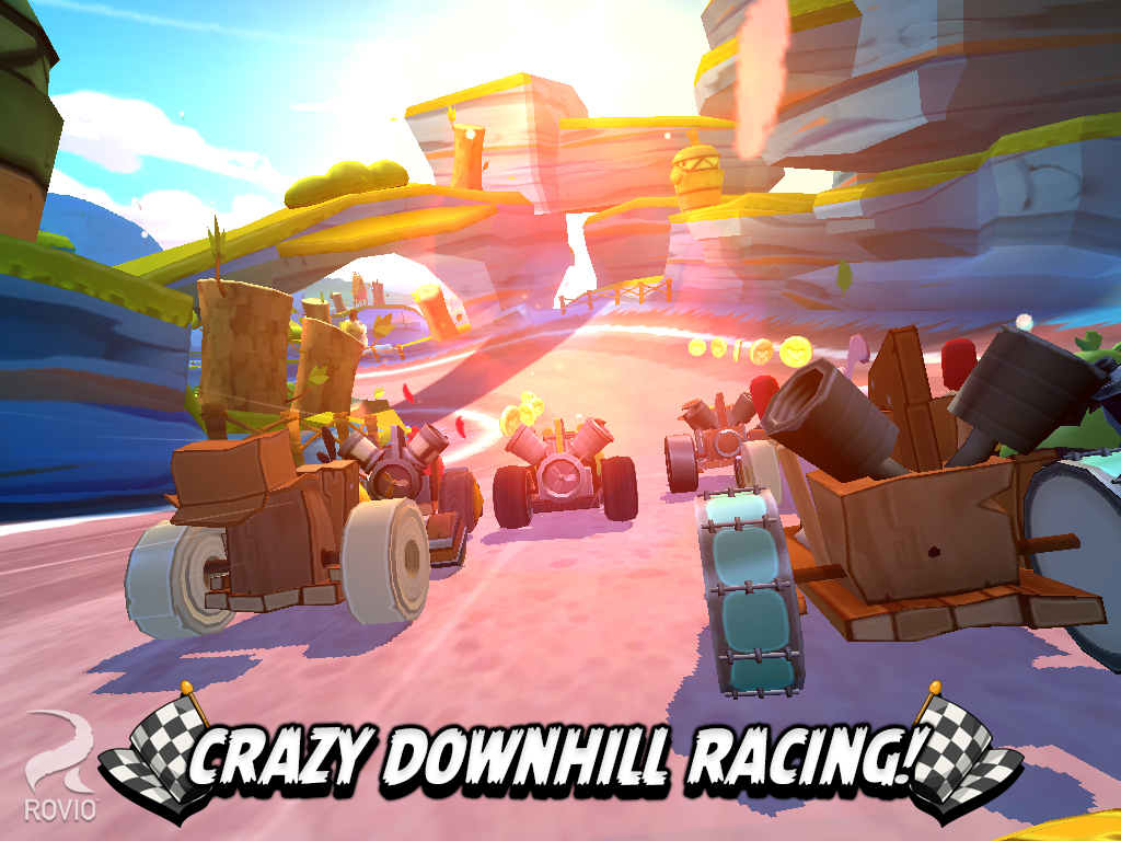 Angry Birds Go! Out Now on Google Play, App Store